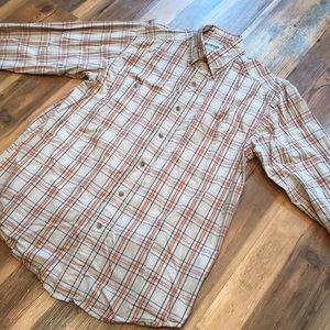 Wrangler Rugged Wear Wrinkle Resist Button Up